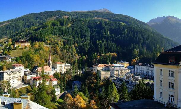 summer holidays in Gastein valley