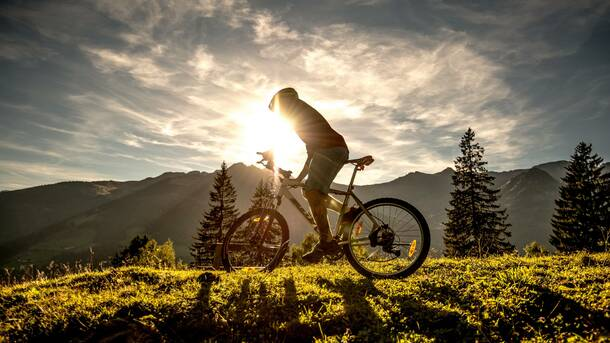 mountain biking in Gastein valley