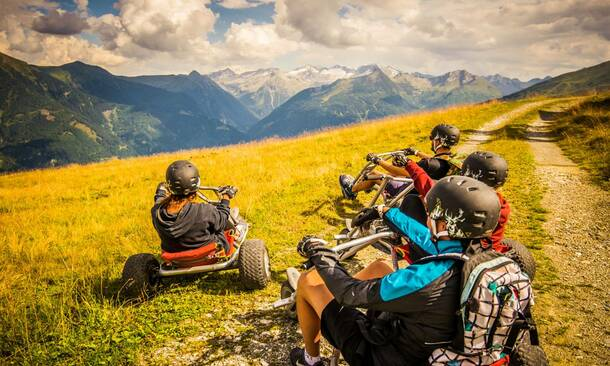 adventure holidays in Gastein valley